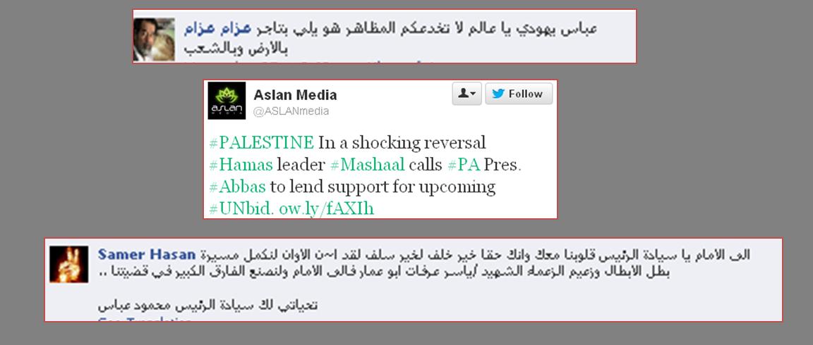 Mahmoud Abbas comments