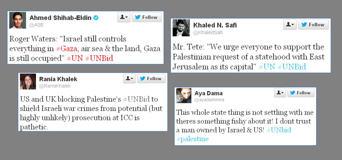 Palestine UN bid comments